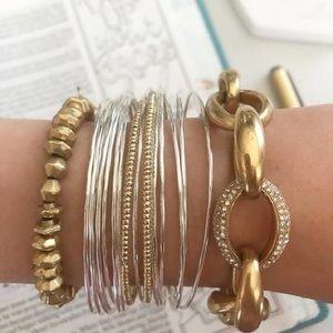 NEW IN BOX Stella & Dot Pavé Chain Link Bracelet